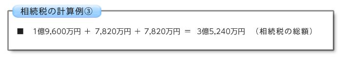 相続税の計算例③